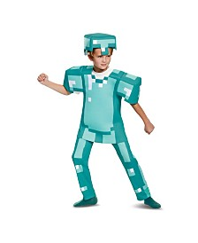 Minecraft Armor Deluxe Little and Big Boys Costume