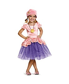 Captain Jake and The Neverland Pirates Izzy Tutu Deluxe Toddler Little and Big Girls Costume