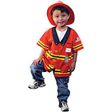 My First Career Gear Firefighter Little Boys Costume