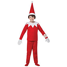 Elf on The Shelf Big Boys Costume