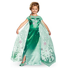 Elsa Frozen Fever Deluxe Big Girls Costume