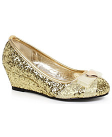 Gold Glitter Princess Big Girls Shoe