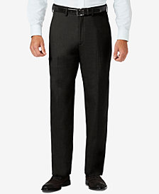 J.M. Haggar Men's Classic-Fit Stretch Sharkskin Dress Pants