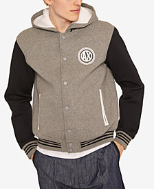 A|X Armani Exchange Men's Hooded Bomber Jacket