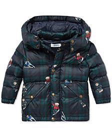 Polo Ralph Lauren Baby Boys Polo Bear Down Jacket