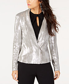 I.N.C. Allover Sequin Blazer, Created for Macy's