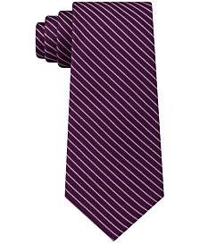 Michael Kors Men's Natte Pinstripe Silk Tie