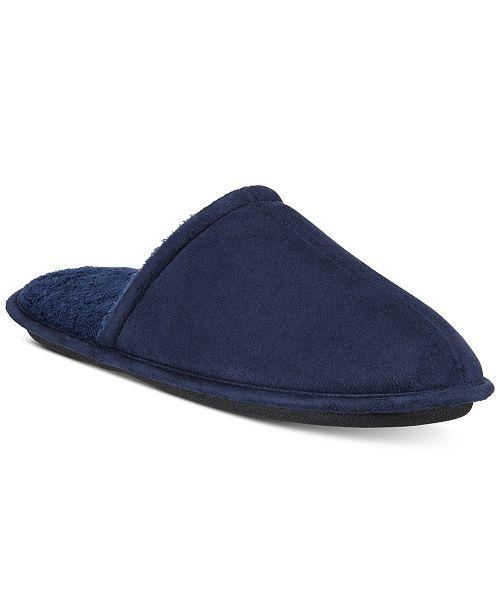 Gold Toe Men's Winter Slipper Collection