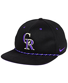 Nike Colorado Rockies String Bill Snapback Cap