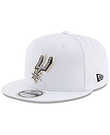 New Era San Antonio Spurs Enamel Badge 9FIFTY Snapback Cap