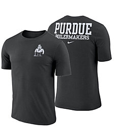 Nike Men's Purdue Boilermakers Dri-FIT Cotton Stadium T-Shirt