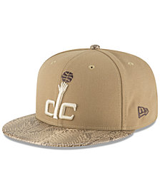 New Era Washington Wizards Snakeskin Sleek 59FIFTY FITTED Cap