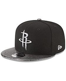 New Era Houston Rockets Snakeskin Sleek 9FIFTY Snapback Cap