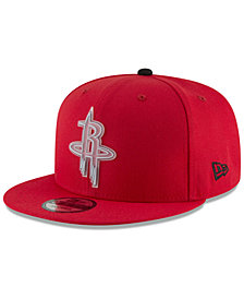 New Era Houston Rockets Team Cleared 9FIFTY Snapback Cap