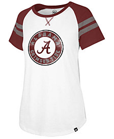 '47 Brand Women's Alabama Crimson Tide Fly Out Raglan T-Shirt