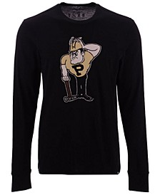 Men's Purdue Boilermakers Knockout Fieldhouse Long Sleeve T-Shirt
