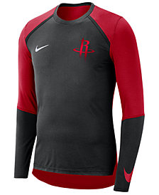Nike Men's Houston Rockets Dry Long Sleeve Top