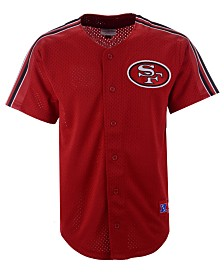 Mitchell & Ness Men's San Francisco 49ers Winning Team Mesh Button Front Jersey