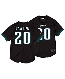 Mitchell & Ness Men's Brian Dawkins Philadelphia Eagles Mesh Name and Number Crewneck Jersey