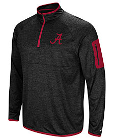 Colosseum Men's Alabama Crimson Tide Amnesia Quarter-Zip Pullover