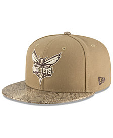 New Era Charlotte Hornets Snakeskin Sleek 59FIFTY FITTED Cap