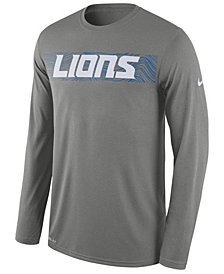 Nike Men's Detroit Lions Legend On-Fileld Seismic Long Sleeve T-Shirt