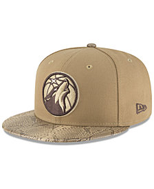 New Era Minnesota Timberwolves Snakeskin Sleek 59FIFTY FITTED Cap