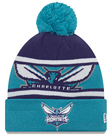 New Era Boys' Charlotte Hornets Jr. Callout Pom Hat