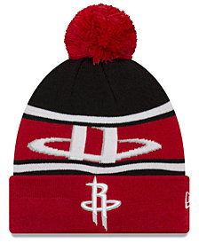 New Era Boys' Houston Rockets Jr. Callout Pom Hat