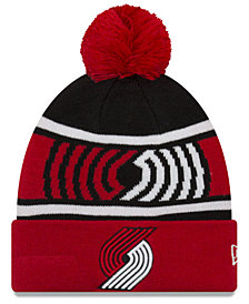 New Era Boys' Portland Trail Blazers Jr. Callout Pom Hat