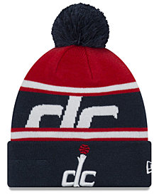 New Era Boys' Washington Wizards Jr. Callout Pom Hat