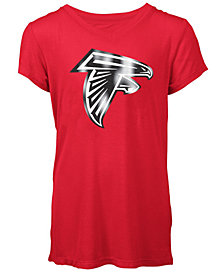 5th & Ocean Atlanta Falcons Logo T-Shirt, Girls (4-16)