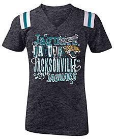 5th & Ocean Jacksonville Jaguars Football T-Shirt, Girls (4-16)