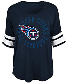 5th & Ocean Women's Tennessee Titans Circle Logo T-Shirt