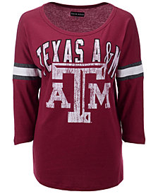5th & Ocean Women's Texas A&M Aggies Stripe Sleeve Tunic