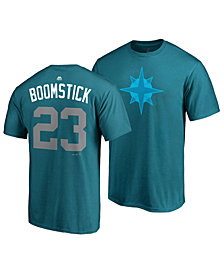 Majestic Men's Nelson Cruz Seattle Mariners Player's Weekend Name and Number T-Shirt