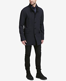 Men's Walking Coat with Bib