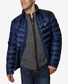 Nautica Men's Quilted Down Jacket