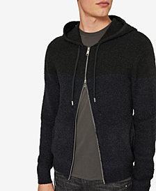 A|X Armani Exchange Men's Slim Fit Lightweight Zip-Front Hoodie