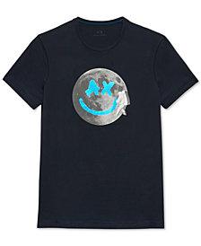 A|X Armani Exchange Men's Moon Graphic T-Shirt