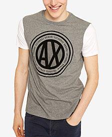 A|X Armani Exchange Men's Velvet Logo T-Shirt