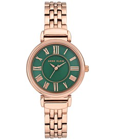 Women's Rose Gold-Tone Bracelet Watch 30mm