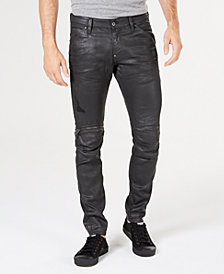 G-Star RAW Men's 5620 Elwood 3D Super-Slim Fit Stretch Moto Jeans