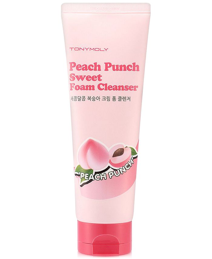 TONYMOLY - Peach Punch Sweet Foam Cleanser