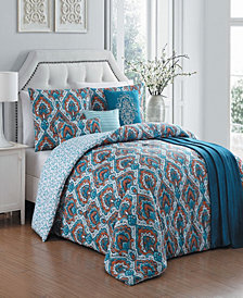 Everly 7 Pc Queen Comforter Set