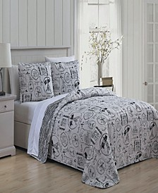 Ooh La La 3 Pc Queen Quilt Set