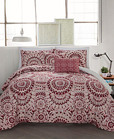 Juno 5 Pc Queen Comforter Set