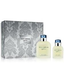 DOLCE&GABBANA Men's 2-Pc. Light Blue Pour Homme Gift Set