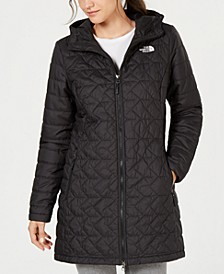 Tamburello Quilted Water-Repellent Hooded Parka