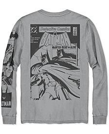 Batman Men's Long-Sleeve Graphic T-Shirt
